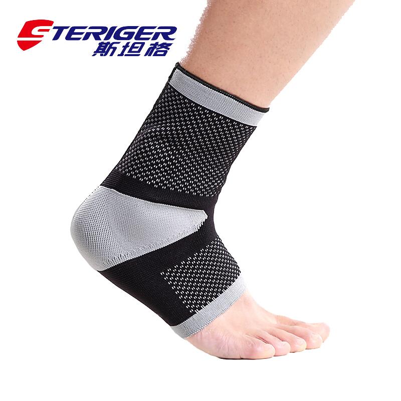 斯坦格加压硅胶缓冲型护踝 户外运动篮球足球扭伤防护男女 STA-2102