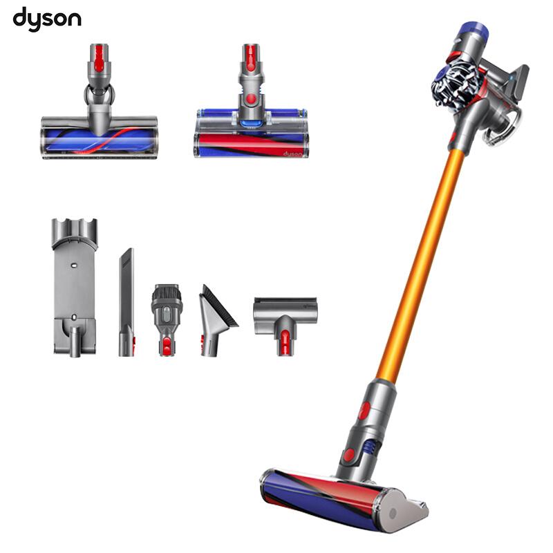 戴森(Dyson)手持除螨仪吸尘器V8absolute(配有6个吸头)