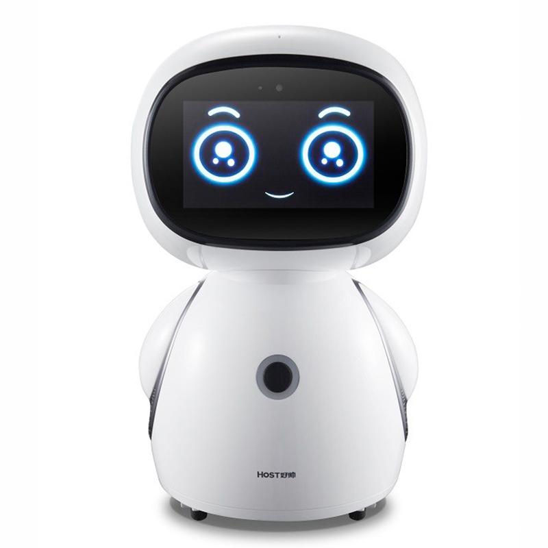 好帥機器人高科技兒童智能語音對話機器人學習機早教A8