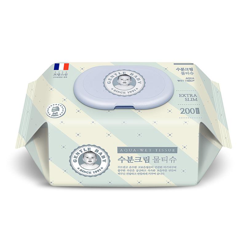 瀚圓紳士貝貝高保濕嬰兒濕巾200片/包*2