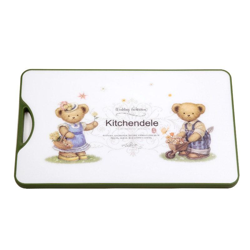 Kitchendele凯晨德乐 小熊菜板XL号