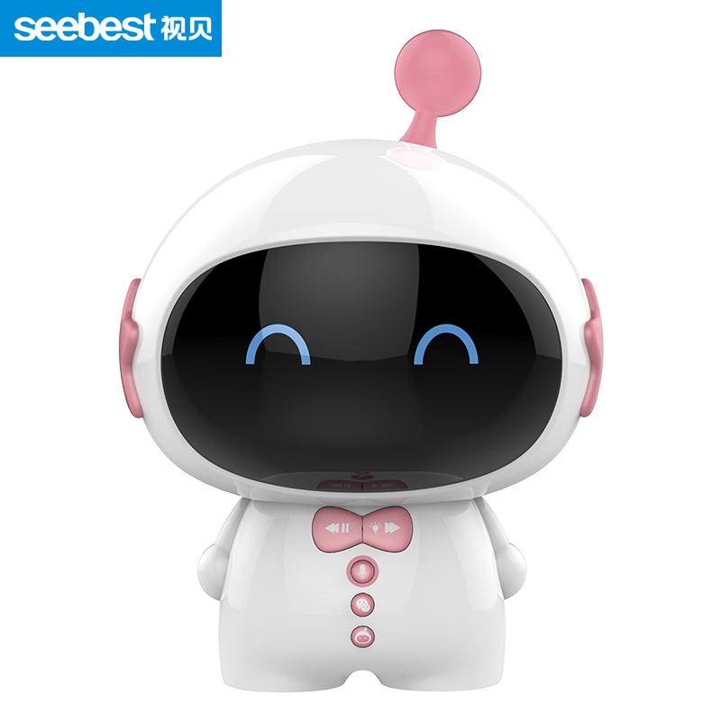 視貝seebest智能語音對話兒童陪伴機器人早教故事機學習機 Z11星寶粉