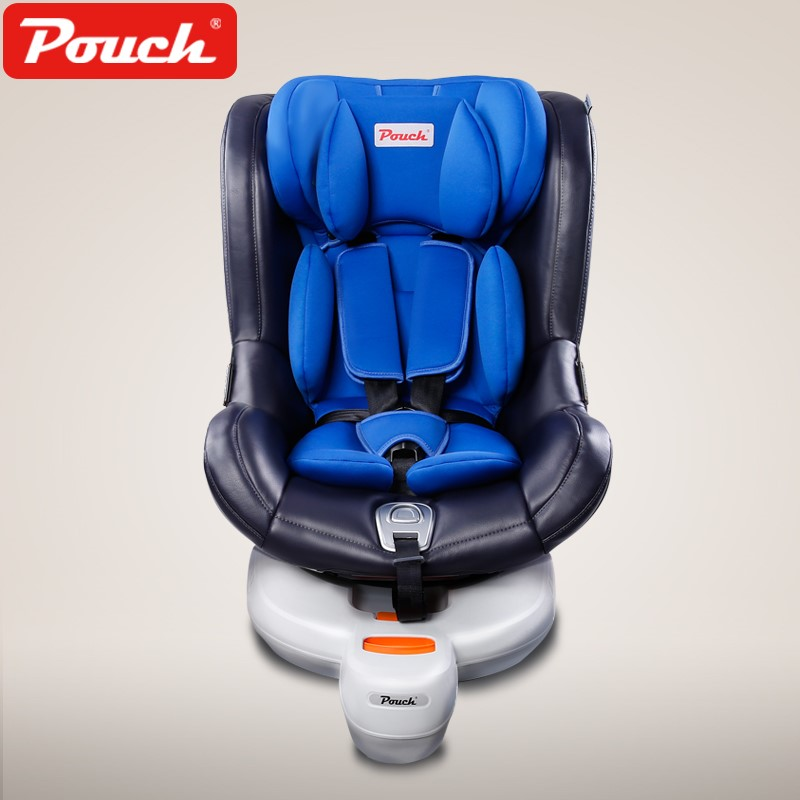 pouch儿童安全座椅0-4岁前支撑腿双向侧向安装汽车用座椅ISOFIX KS19-1