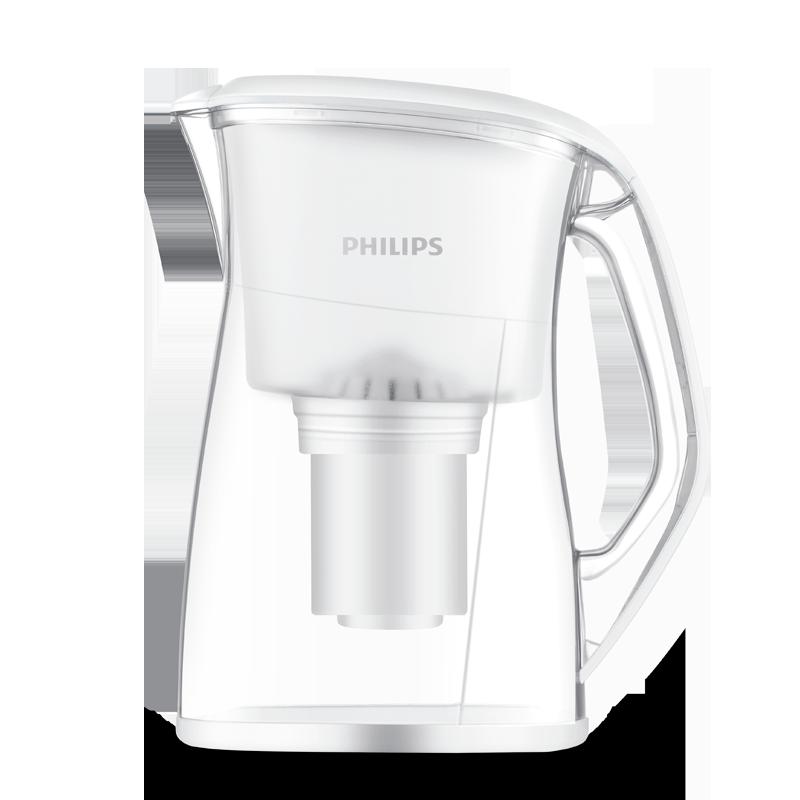 飛利浦(PHILIPS)家用凈水器 WP4210/01 超濾除菌 凈水壺 濾水壺 一壺一芯