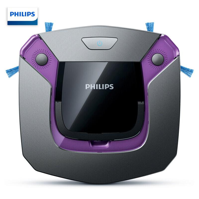 飞利浦FC8796扫地机器人吸尘器紫黑色