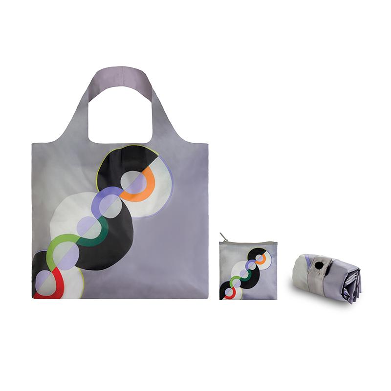 LOQI春卷包 博物馆系列单肩包时尚可爱文艺女包  无尽的节奏 环保万用袋