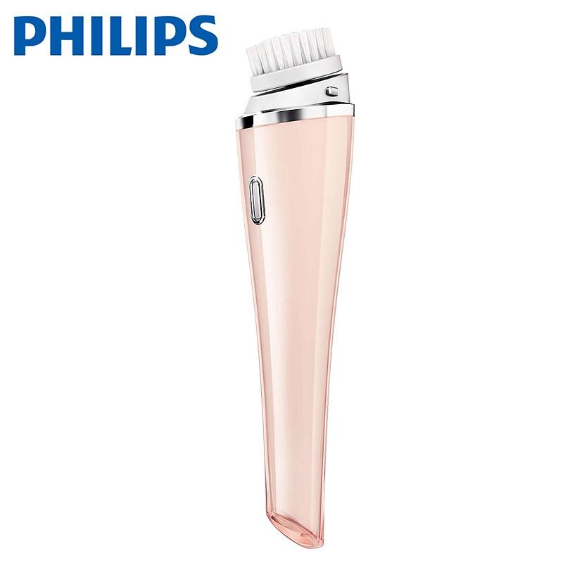 飛利浦SC5275電動洗臉器洗臉按摩刷潔面儀潔面器充電式潔膚儀 粉色