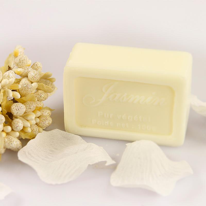普羅旺斯法國進口馬賽香皂(茉莉) 100g