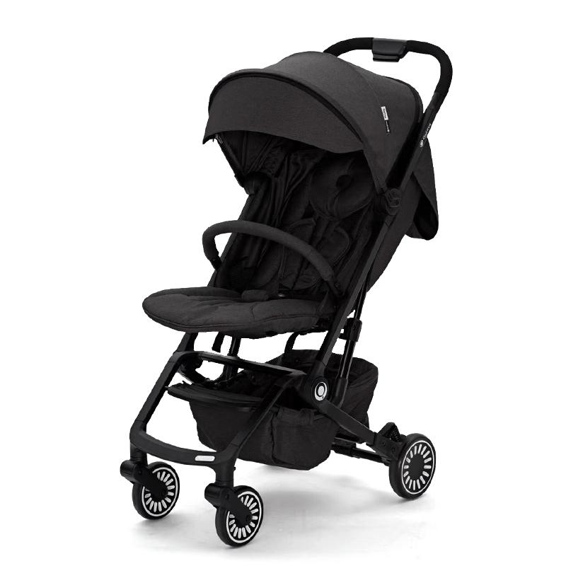 昆塔斯FlexPro輕便型嬰幼兒推車(0-3歲)Q3黑色