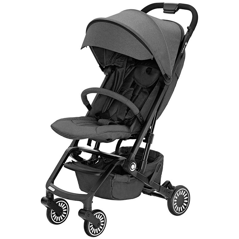 昆塔斯FlexPro轻便型婴幼儿推车(0-3岁)Q3高级灰