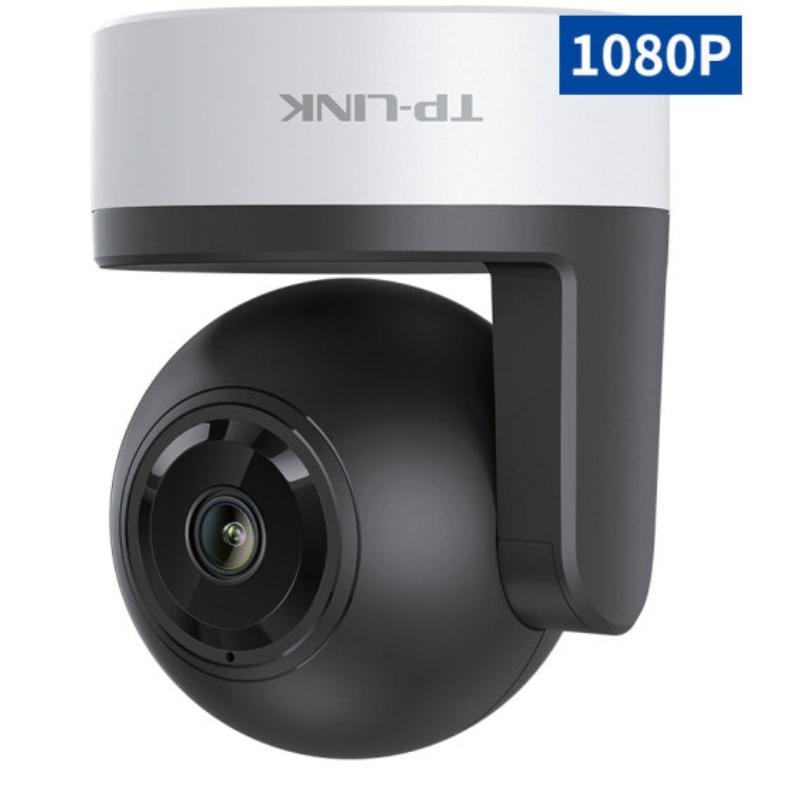 TP-LINK TL-IPC42A-4 1080P云台无线监控摄像头 360度全景高清红外夜视wifi远程双向语音 家用智能网络摄像机 黑