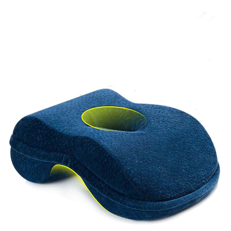 佳奥午睡枕记忆枕基础款J25D01AS1藏青色