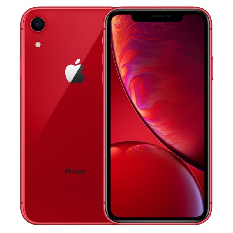 Apple iPhone XR (A2108) 128GB 紅色 移動聯通電信4G手機 雙卡雙待