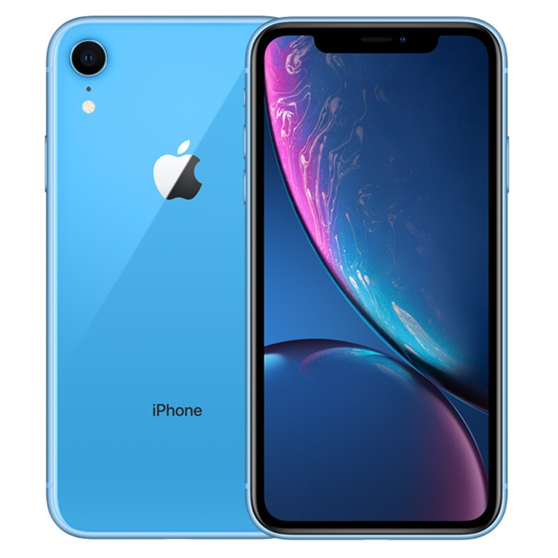 Apple iPhone XR (A2108) 128GB 蓝色 移动联通电信4G手机 双卡双待