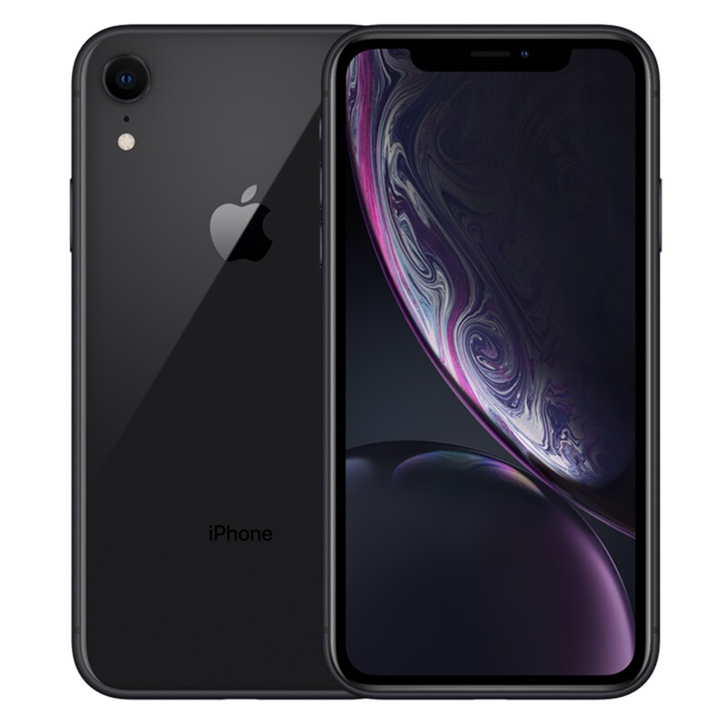 iPhone XR 蘋果手機 移動聯通電信4G手機 黑色 128G