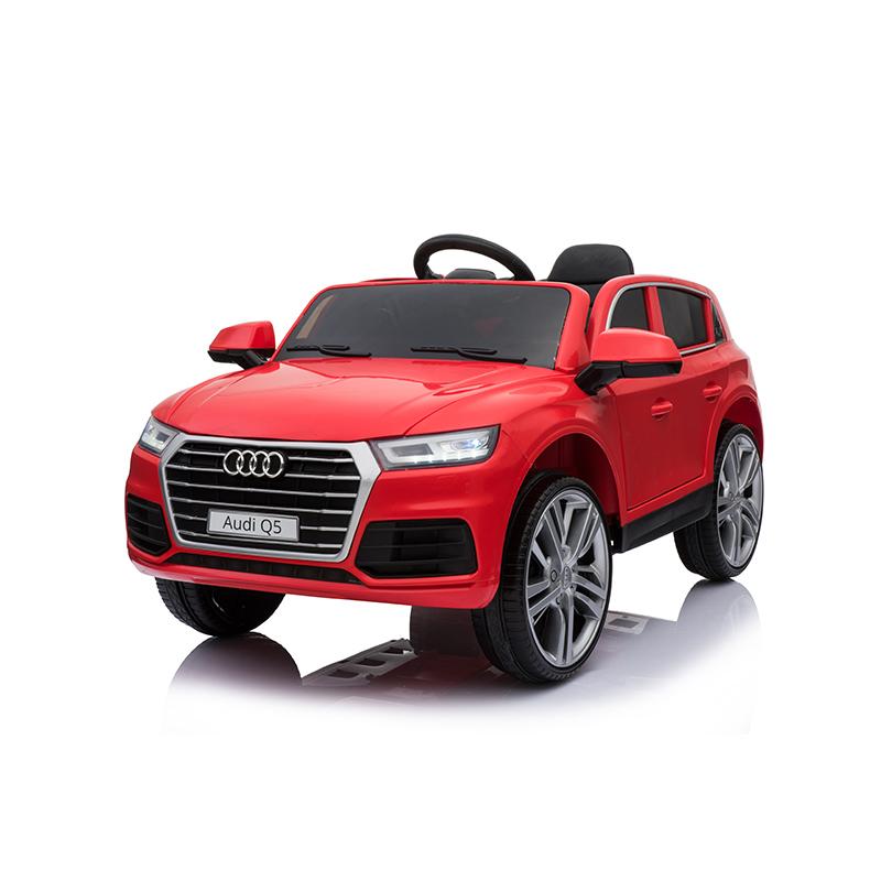 孩智堡儿童玩具汽车HZB-108-抛光红色两驱款