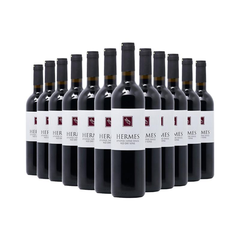 洛威爾LOEL酒莊赫瑪斯干紅葡萄酒十二支裝750ml*12
