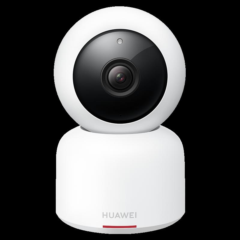 华为(HUAWEI)家居智能摄像机双向通话 AI智能侦测 双模夜视 全景云台CV70白色