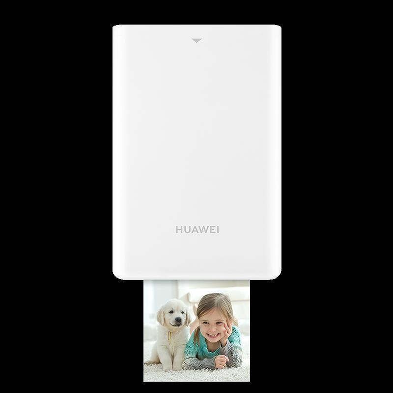 华为(HUAWEI)照片打印机迷你打印机 手机蓝牙 无线连接 口袋随身 自拍伴侣CV80白色