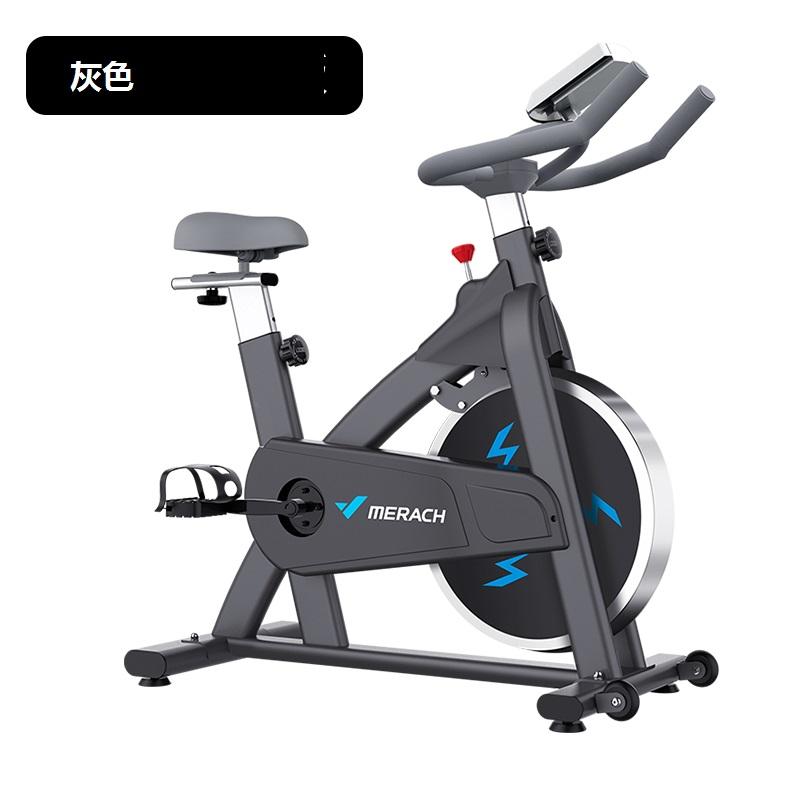 麥瑞克銀月mini動感單車家用健身車腳踏自行車健身房器材專用瘦身MR-637H灰色