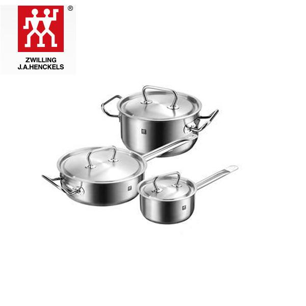 双立人TwinClassicII实用家庭锅具3件套 40920-018-982