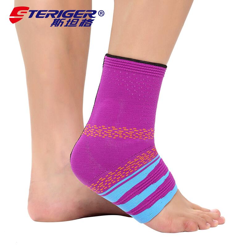 斯坦格幻彩护踝扭伤防护男女运动 羽毛球足球篮球加压护脚踝护具 STA-2701